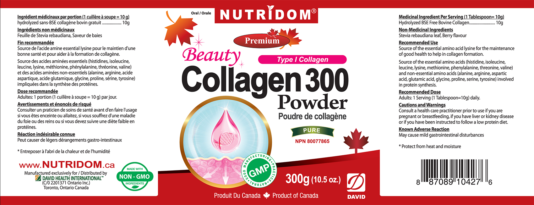 NUTRIDOM Beauty Collagen
